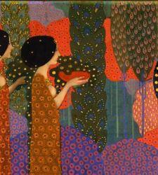 Dalle Mille e una notte a Venezia: le principesse di Vittorio Zecchin, il Klimt italiano