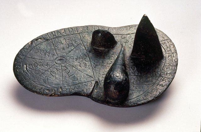 Arte etrusca, Fegato di Piacenza (II-I secolo a.C.; bronzo, 12,6 x 7,6 x 6 cm; Piacenza, Musei Civici di Palazzo Farnese)