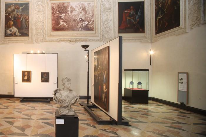 Palazzo Farnese, la sala dei Fasti Farnesiani
