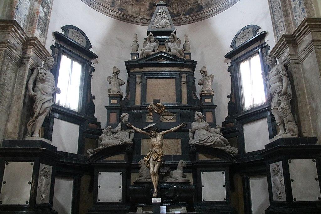 Simone Moschino, Monumento funebre di Margherita d'Austria (1593; Piacenza, San Sisto)