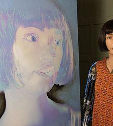 Presto a Londra la prima mostra di opere create dall'artista robot umanoide