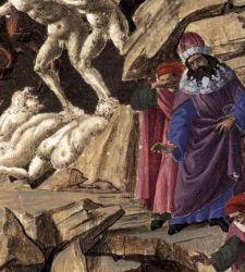 Un incredibile mondo visionario: le illustrazioni di Botticelli per la Divina Commedia