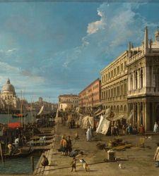 Ospite d'eccezione alla Ca' d'Oro: un Canaletto dal Castello Sforzesco di Milano