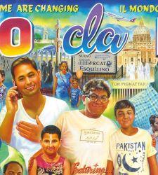 Il MAXXI espone per la prima volta la grande tela che trasforma Roma in un set di Bollywood