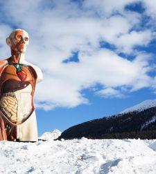 Se arte contemporanea dev'essere, che sia potente e squassante. Su Damien Hirst a St. Moritz