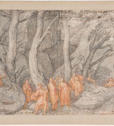 Gli Uffizi lanciano una mostra virtuale su Dante coi disegni della Commedia di Federico Zuccari