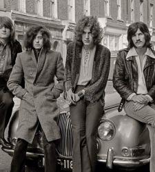 I Led Zeppelin a Bologna: in mostra le foto che raccontano la nascita della band