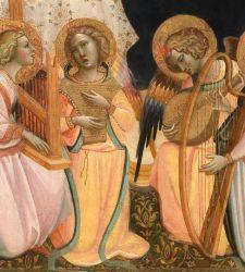 Giovanni dal Ponte, angeli musicanti e allegorie musicali