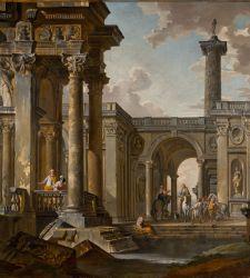 Da Pannini a Boucher e Goya, la grande pittura del Settecento in mostra a Carrara