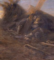 """La """"Visione triste"""" di Giuseppe Mentessi: il calvario laico dei lavoratori dimenticati"""