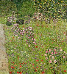 Gustav Klimt, la sua passione per le rose e il giardino della sua villa a Vienna
