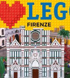 Il Campanile di Giotto e la Gioconda in stile LEGO: al via a Firenze una grande mostra sugli iconici mattoncini
