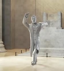 I monumenti americani ballano per festeggiare l'addio di Trump: ecco il divertente video