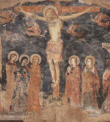 Un delicato artista umbro del Trecento: la Crocifissione del Maestro di Fossa