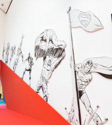 I grandi supereroi del fumetto Marvel e DC in mostra al PAFF con tavole originali