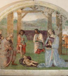 Perugia, parte il restauro dell'Adorazione dei Pastori del Perugino