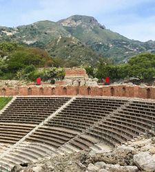Taormina, opere en plein air al Teatro antico per il centenario di Pietro Consagra