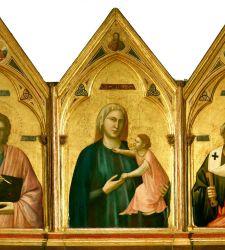L'opera di Giotto che Dante probabilmente vide: il Polittico di Badia