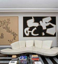 A casa di Fabio e Virginia Gori, dove tutti gli elementi sono opere d'arte