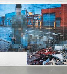 Roma, al MAXXI riuniti per la prima volta tutti i Pixel-Collage di Thomas Hirschhorn