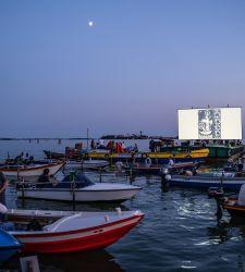 Venezia, le acque della laguna diventano un... cinema galleggiante, per il secondo anno