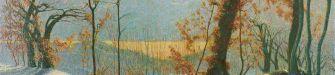 """L'emozione dell'inverno in otto quadri: il """"Poema Invernale"""" di Vittore Grubicy"""