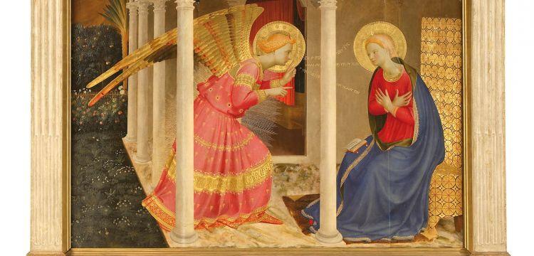L'Annunciazione di Cortona del Beato Angelico: luce divina che si riflette sulla terra