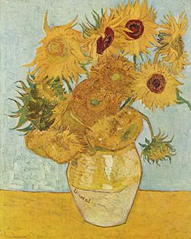 Vincent Van Gogh, Girasoli, Monaco di Baviera, Neue Pinakothek